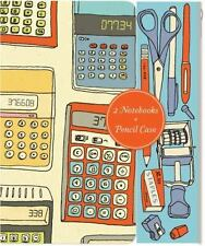Notes and Calculations : Notebooks and Pencil Case Set (2013, Print, Other)