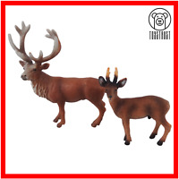 Deer Toy Figure Animals Lot of 2 Animal Figures Bundle by Schleich Z1