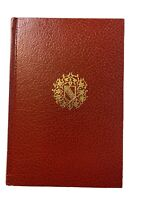 Tales of the Alhambra by Washington Irving 1968 Red Leatherette Rare Book