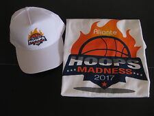 "NCAA Tournament 2017 ""Hoops Madness"" Hat And T-Shirt ( Lot of 2 ) Free Shipping!"