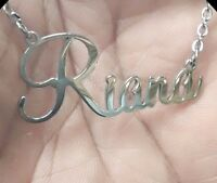 Custom Surgical Stainless Steel Chain - Name Necklace Stainless Steel