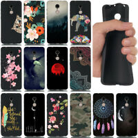 For Xiaomi Redmi Note 4 4X 5A Shockproof Soft Silicone Black Painted TPU Cover