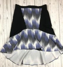 Peter Pilotto For Target 8 Lined  Abstract Artsy Geometric Aline  Flare Skirt m3