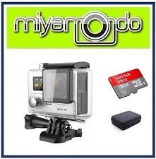 Eken H8R Action Camera 4K Ultra HD WiFi (Silver) + Ultra microSD 16GB + Case