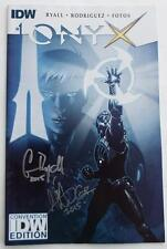 NEW SIGNED GABRIEL RODRIGUEZ & CHRIS RYALL Onyx #1 SDCC Convention Variant  300!