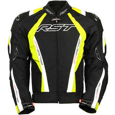 RST PRO SERIES CPXC MEN'S VENT TEXTILE MOTORCYCLE JACKET FLO YELL NEW SIZE UK 48