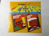 Admiral Bailey & Tonto Irie-Mr. Biggs Presents A Super Clash Vinyl LP 1987