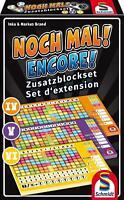 Schmidt Spiele Noch Mal! Zusatzblöcke 3er Pack Zusatzblock Spiel Würfelspiel Set