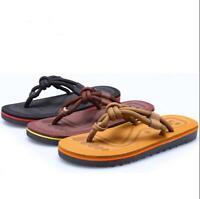 Mens Womens Summer Beach Sandals Flip Flops Outdoor Casual Flat Slippers Comfy