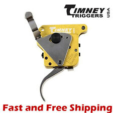 Timney Calvin Elite Adjustable Nickel Plated Trigger w/Safety for Remington 700