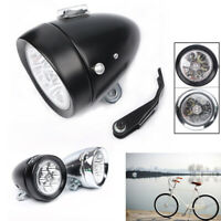6 LED Vintage Bicycle Bike Light Headlight Front Retro Head Fog Lamp ha
