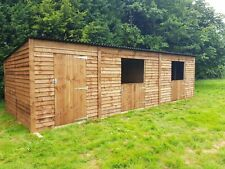 25 x 10 Mobile pony shelter/stable with tack/store room. Can deliver and fit