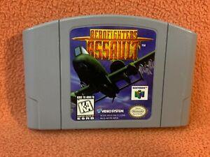 Aerofighters Assault Nintendo 64 N64 Original Authentic Retro Classic Game!
