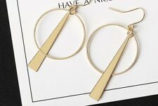 Earring Boho Festival Party Boutique Uk Gold Hoop Geometric Fancy Luxury Fashion
