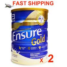 Abbott Ensure Gold Complete Nutrition Milk Powder vanilla Flavor 850g x 2 Tin