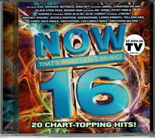 Now 16 That's What I Call Music  20 Chart-Topping Hits BRAND  NEW SEALED CD