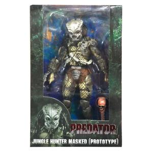 30th Anniversary Predator Jungle Hunter Masked Prototype Action Figure Model Toy