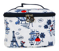 Jenzys Fashion Cats Cute Small Designer Travel Cosmetic Makeup Bag Case Make Up