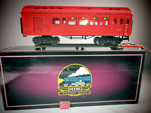 MTH THE IVES RAILWAY LINES BUFFET CAR 187-1 C-8 MTH BOX DOES NOT MATCH.