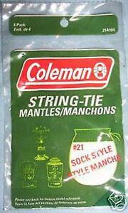 Coleman Powerhouse Lantern Mantles (4 mantles)