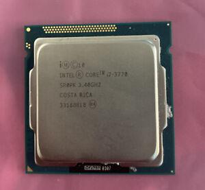 Intel Core i7-3770 Quad Core 3.4GHz 8MB SR0PK Socket 1155 CPU Processor