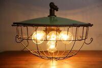 Antique Benjamin light socket 7 cluster Industrial lamp Faries OC Whiteetc old