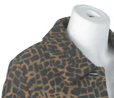 NEW Geiger Austria Boiled Wool Jacket (Coat)!  6 e 36   *Animal Leopard Print*