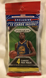 2018-19 PANINI PRIZM BASKETBALL Fat Cello Pack 15 CARDS PER PACK