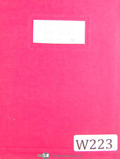 Wells No. 12, Metal Cutting Band Saw, Instructions Manual Year (1996)