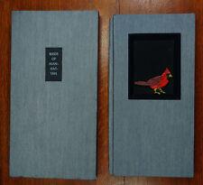 """JOHN ROSS ARTIST'S BOOK - """"BIRDS OF MANHATTAN"""" - HIGH TIDE PRESS"""