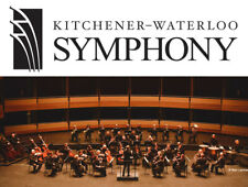 Kitchener-Waterloo Symphony - 2 Tickets 2020-2021 Season Concert of Your Choice