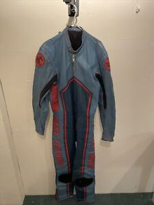 Manx Leathers, Vintage All in One Racing Suit Mens