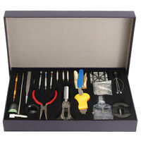 155Pcs/Set Multi Watch Repair Tool Kit Back Case Opener Remover Spring Pin Tools