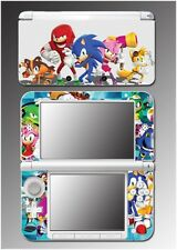 Sonic Boom Hedgehog Tails Knuckles Video Game Decal Skin for Nintendo 3DS XL