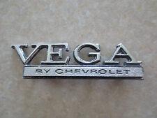 Original 1970s Chevrolet Vega car emblem / badge