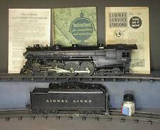 Lionel #773 HUDSON 4-6-4 STEAM ENGINE & #2426W DIECAST TENDER C-7ISH & MORE # 2
