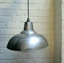Rustic industrial factory Vintage Retro Old Style pendant light lamp shade