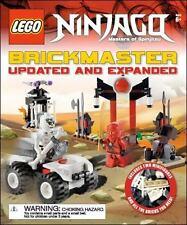 NEW LEGO Hardcover Ninjago Illustrated Brickmaster Updated and Expanded English