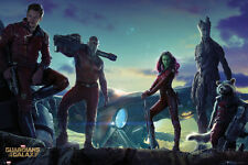 Guardians of the Galaxy - Group Landscape Poster Print, 36x24