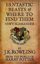 Fantastic Beasts and Where to Find Them by J.K. Rowling 2009 Paperback NEW