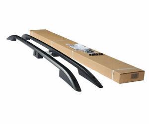 for Toyota RAV4 Aluminium Rails Roof Rack Side Luggage Carrier Bars Black