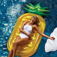 Flotador Inflable Gigante Piña Piscina Tubo de Aire Cama balsa Divertido Juguete De Agua