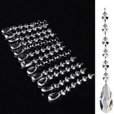 24 sparkle Acrylic Crystal Garland Hanging Bead Curtain Wedding Party Decor NN30