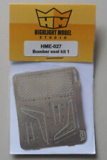 1/24-1/25 Bomber Seat Set 1 1:24 1:25 HIGHLIGHT MODEL CAR Part 27