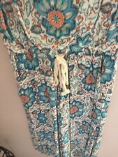 EUC Democracy Summer Jumpsuit S Small Twofer Cullotte romper Rayon