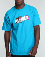 ENJOI 'SUCK MY DECK'  MENS TEE BLUE SIZE LARGE BRAND NEW FREE POSTAGE
