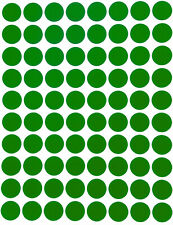 Green Dot Stickers In Various Sizes 8mm 38mm Color Coding Label In 15 Sheets