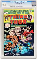 Marvel Two-In-One #9 (May 1975, Marvel) CGC 9.6 NM+ Thing Thor   Herb Trimpe art