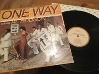 One Way ft. Al Hudson LP on MCA Label (1979)..70's Soul- Disco in VG/ VINYL VG+