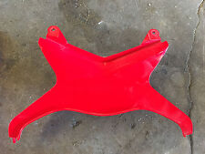 Kawasaki zx6r ninja 09 10 11 12 center tail fairing panel rear red cowling